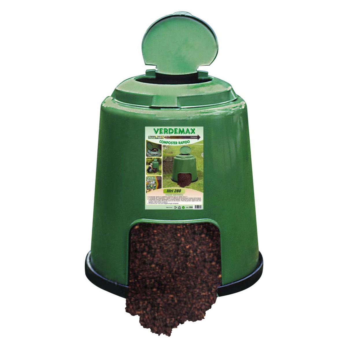 Compostiera rapido prezzi e offerte online for Ricambi zanzariere leroy merlin