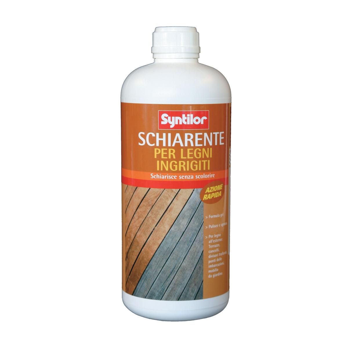 Oli protettivi e detergenti per legno esterno: prezzi e offerte ...