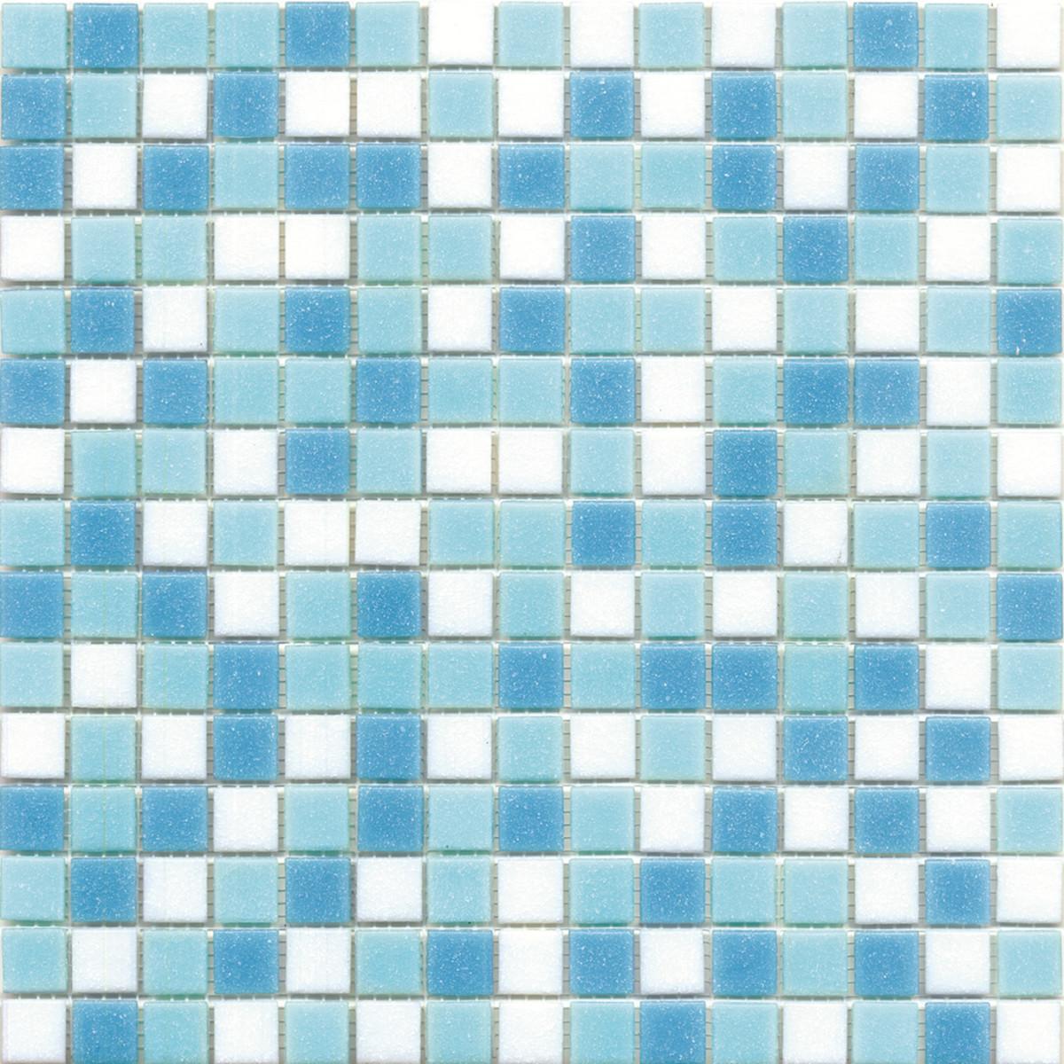 Bagno mosaico azzurro - Piastrelle a mosaico ...