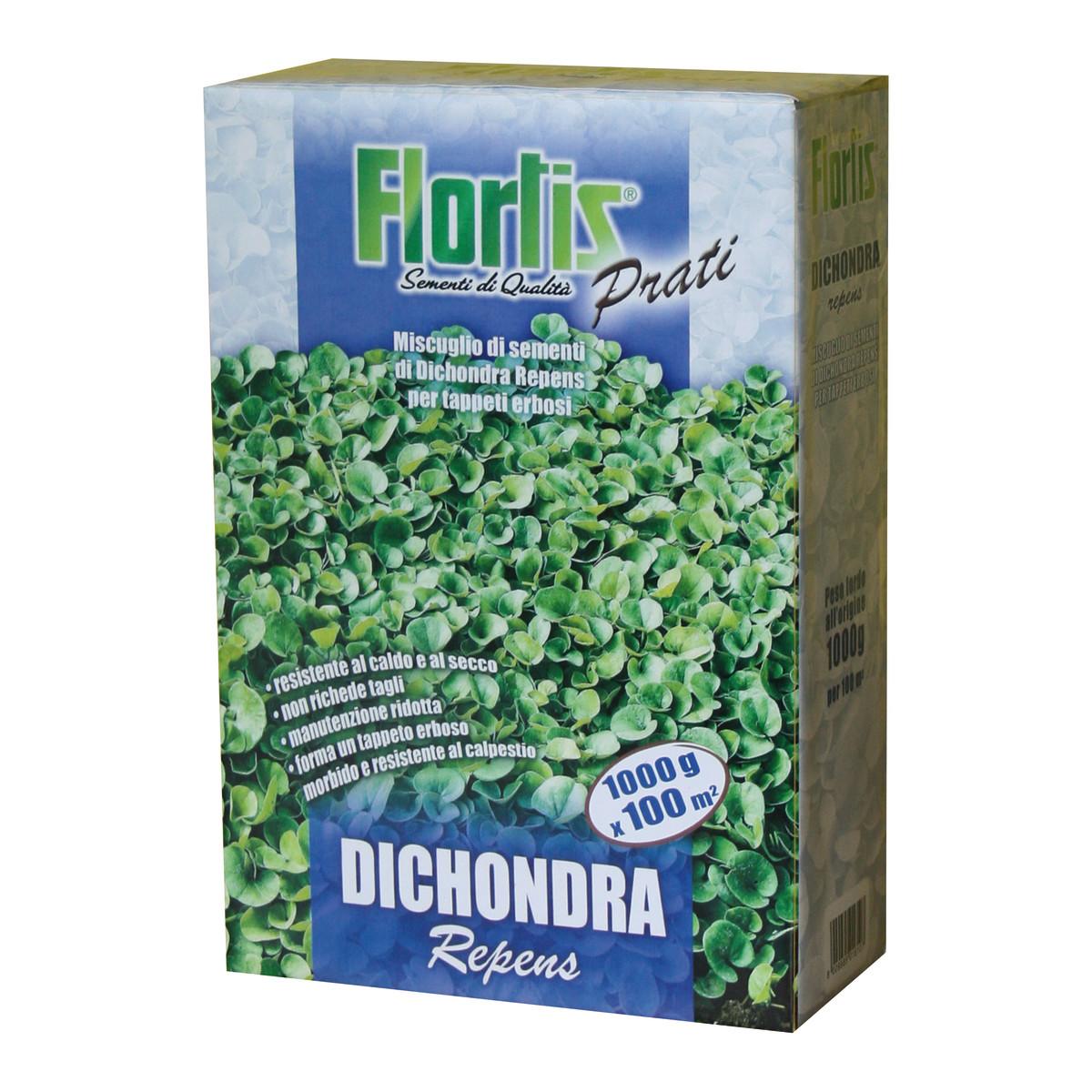 Semi per prato dichondra repens flortis 1 kg prezzi e for Prato a rotoli leroy merlin