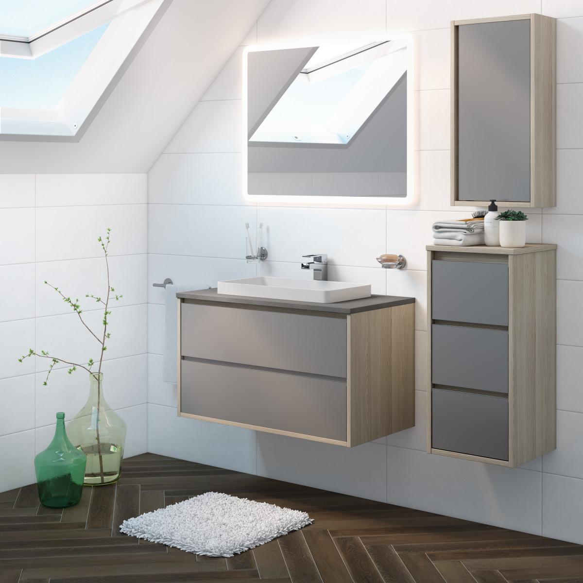 Mobili bagno ovali economiche for Offerta mobili bagno