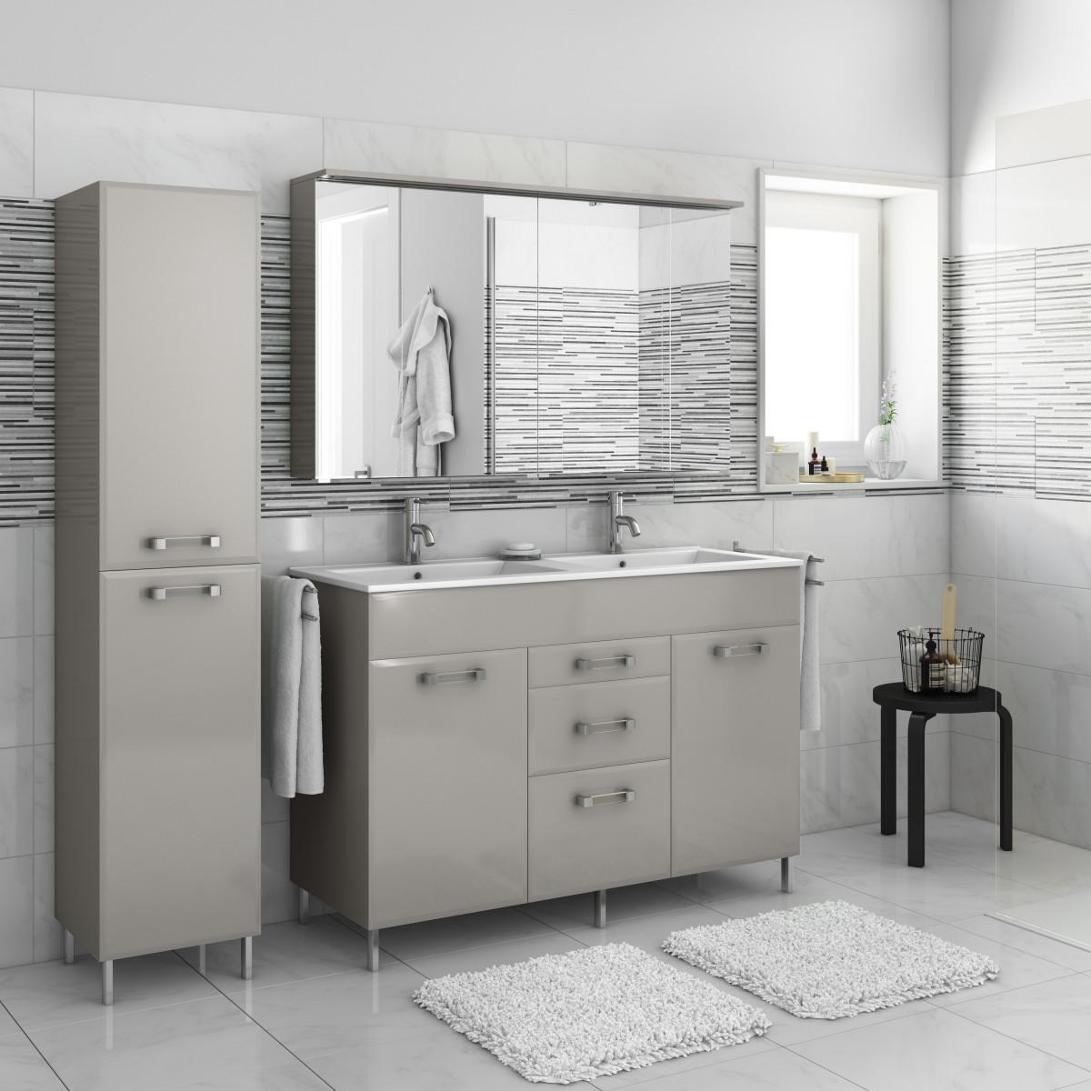 Tiarch.com  Specchio Armadietto Bagno