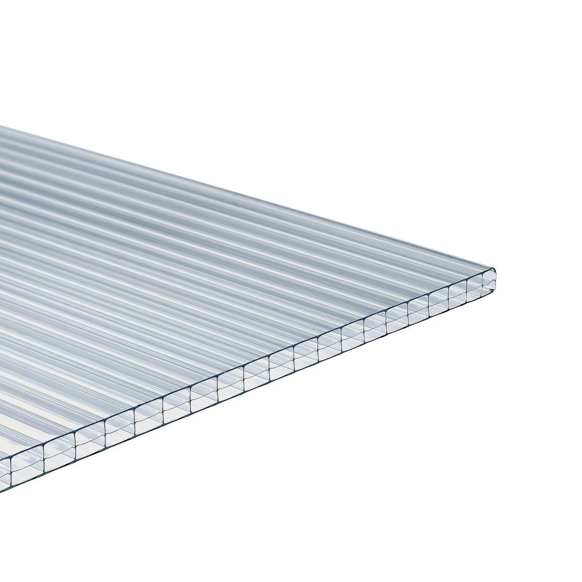 Lastra policarbonato per tettoie verande serre leroy for Tettoie in legno leroy merlin
