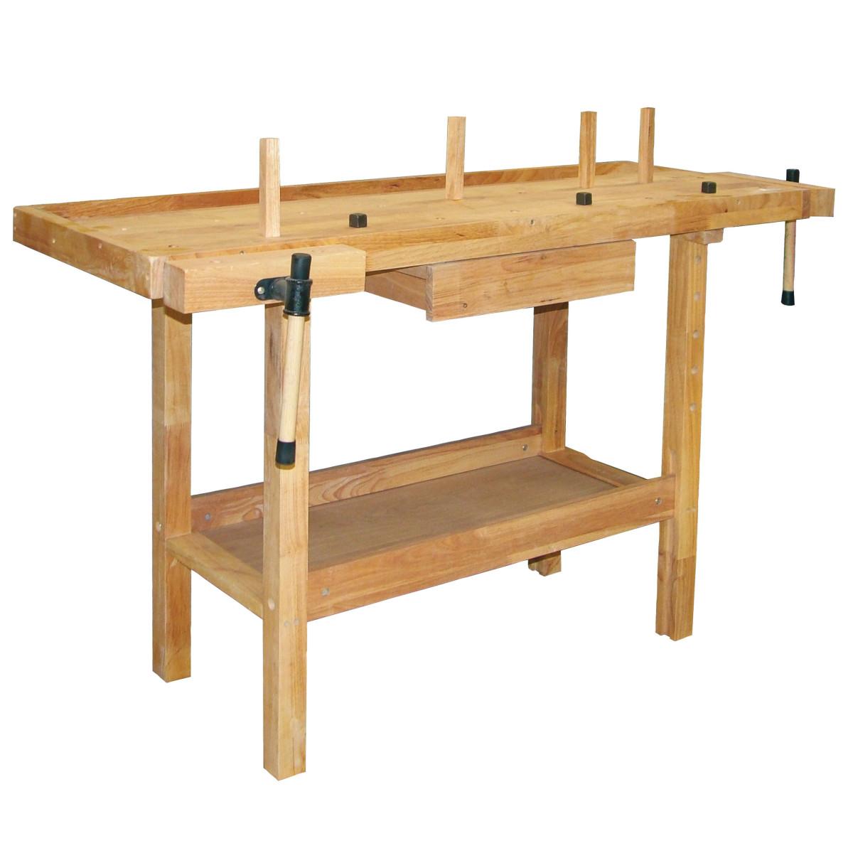 Morsa banco da lavoro for Gambe tavolo legno leroy merlin