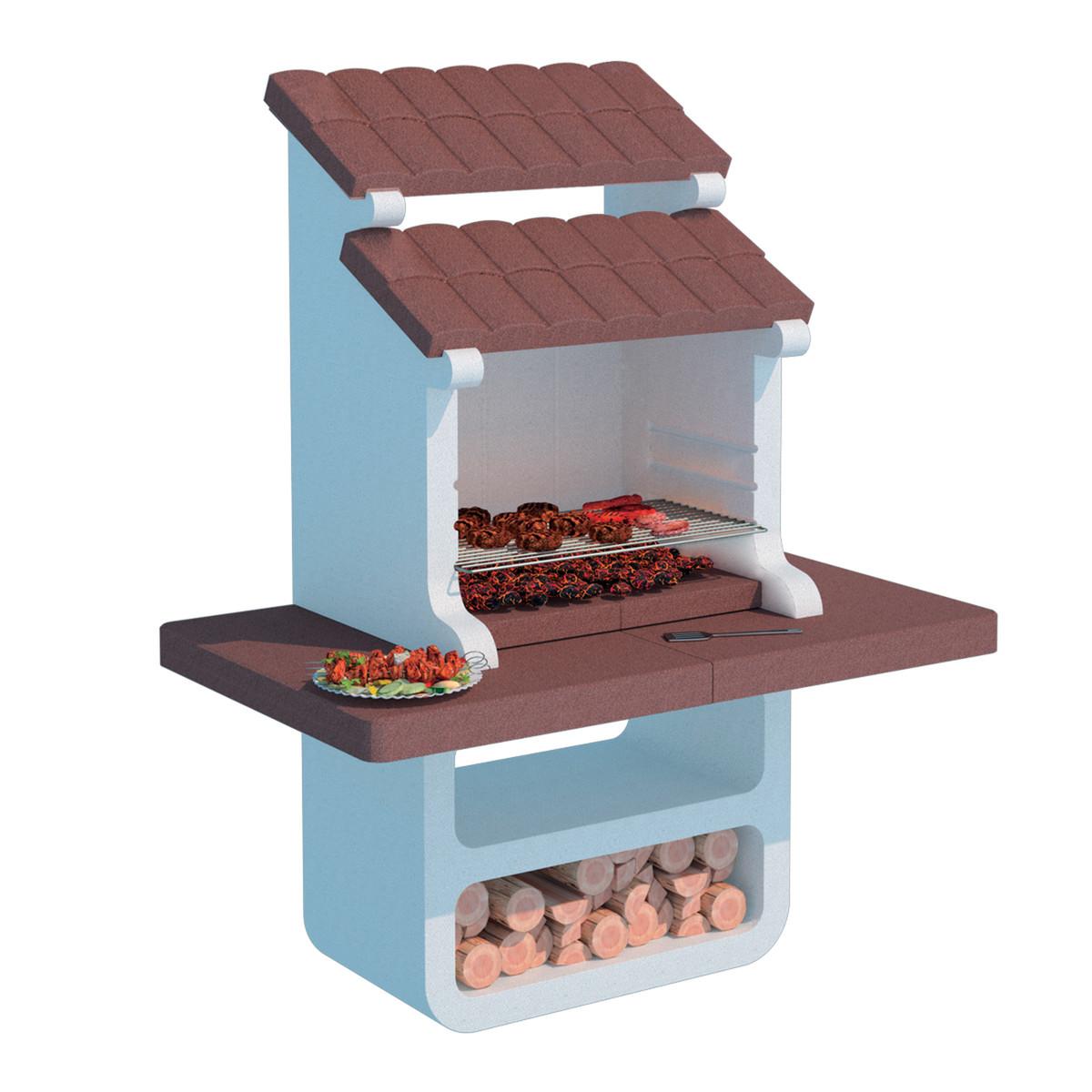 Caminetti per barbecue masterchef barbecue fred open soft for Offerte barbecue in muratura