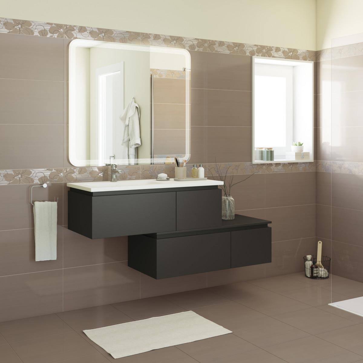 Dividere senza pareti salotto e cucina - Mobile bagno doppio lavabo leroy merlin ...