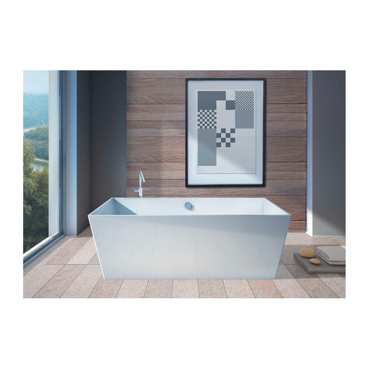 Vasca centro stanza carmel 160 x 65 cm prezzi e offerte for Vasca centro stanza