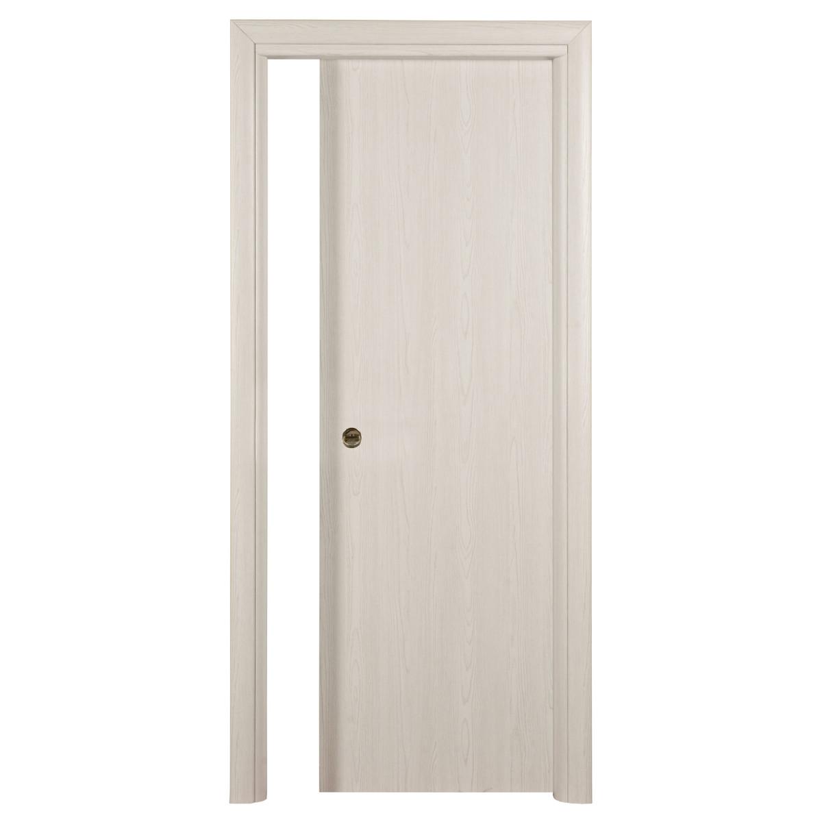 Porta da interno scorrevole notting hill pino sbiancato 70 - Porte da interno offerte ...