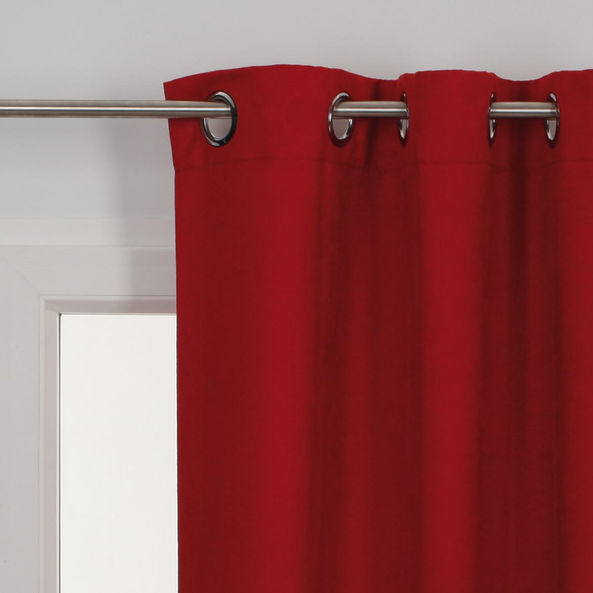 Tendina a vetro per finestra vichy rosso 60 x 140 cm: prezzi e ...