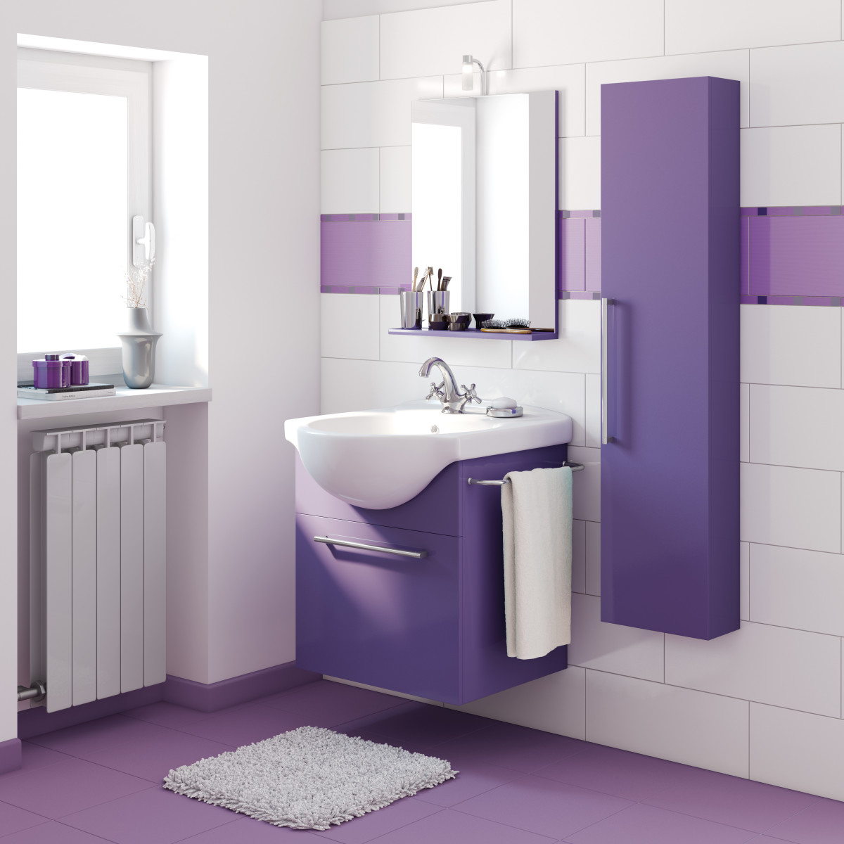 Finest emejing mobili bagno colorati pictures skilifts us skilifts us with bagni colorati moderni - Pensili per bagno leroy merlin ...