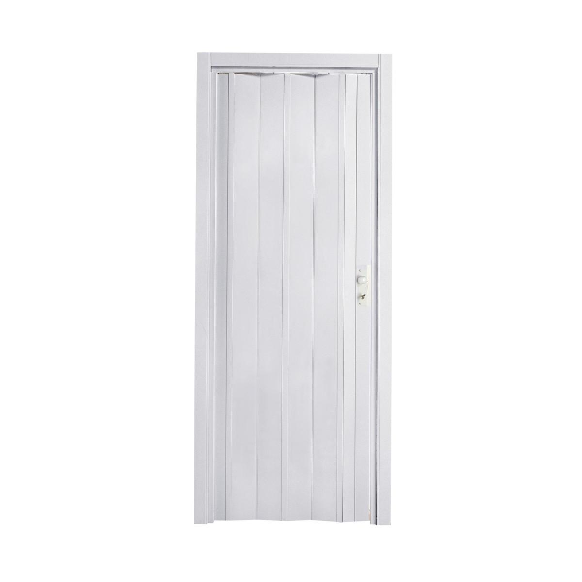 Porta a soffietto luciana bianco l 88 5 x h 214 cm prezzi - Porta a soffietto leroy merlin ...
