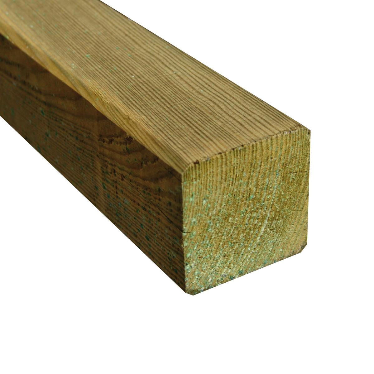 Palo quadro h 200 cm prezzi e offerte online for Leroy merlin palo legno