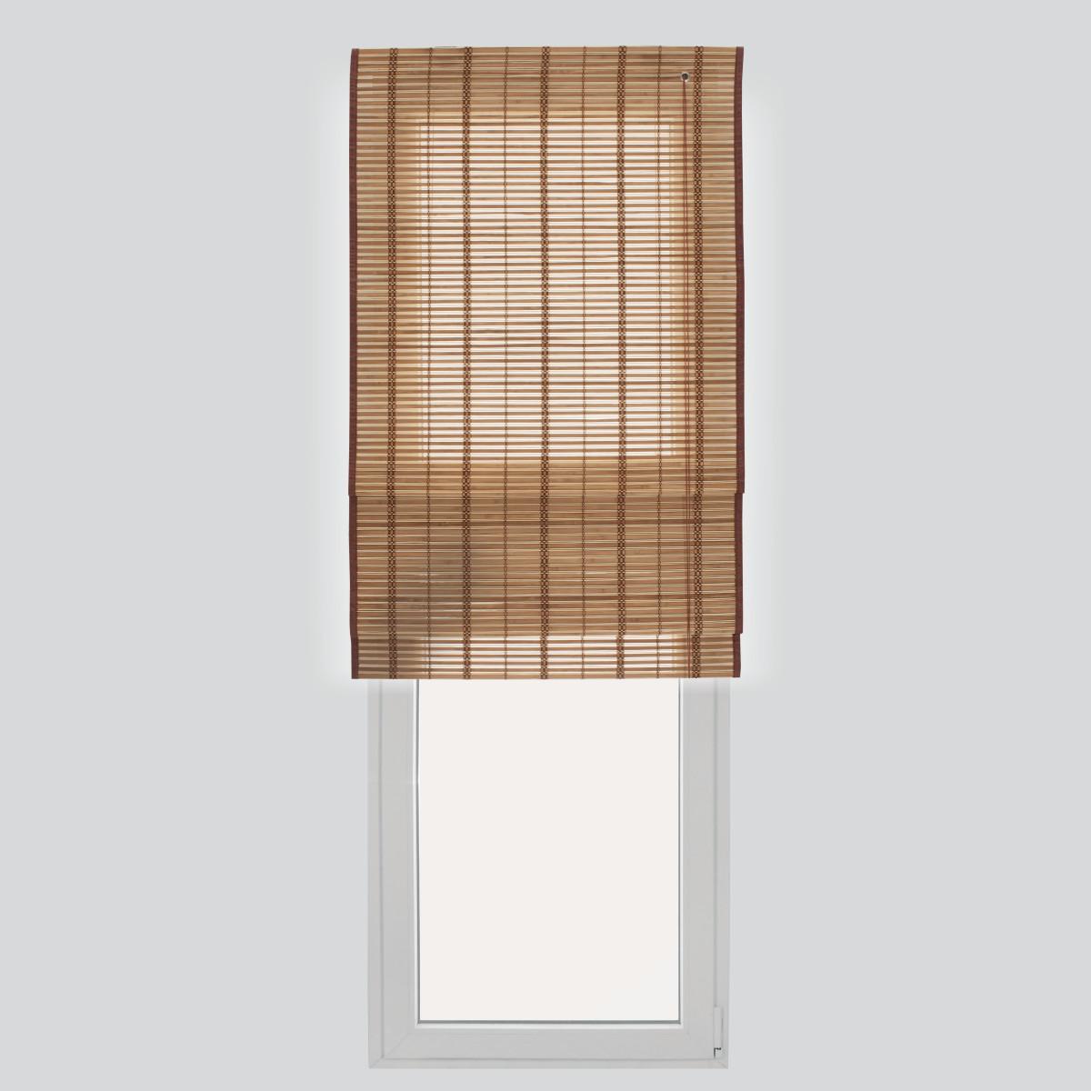 Tenda a pacchetto saigon legno naturale 45 x 250 cm for Erba sintetica prezzi leroy merlin