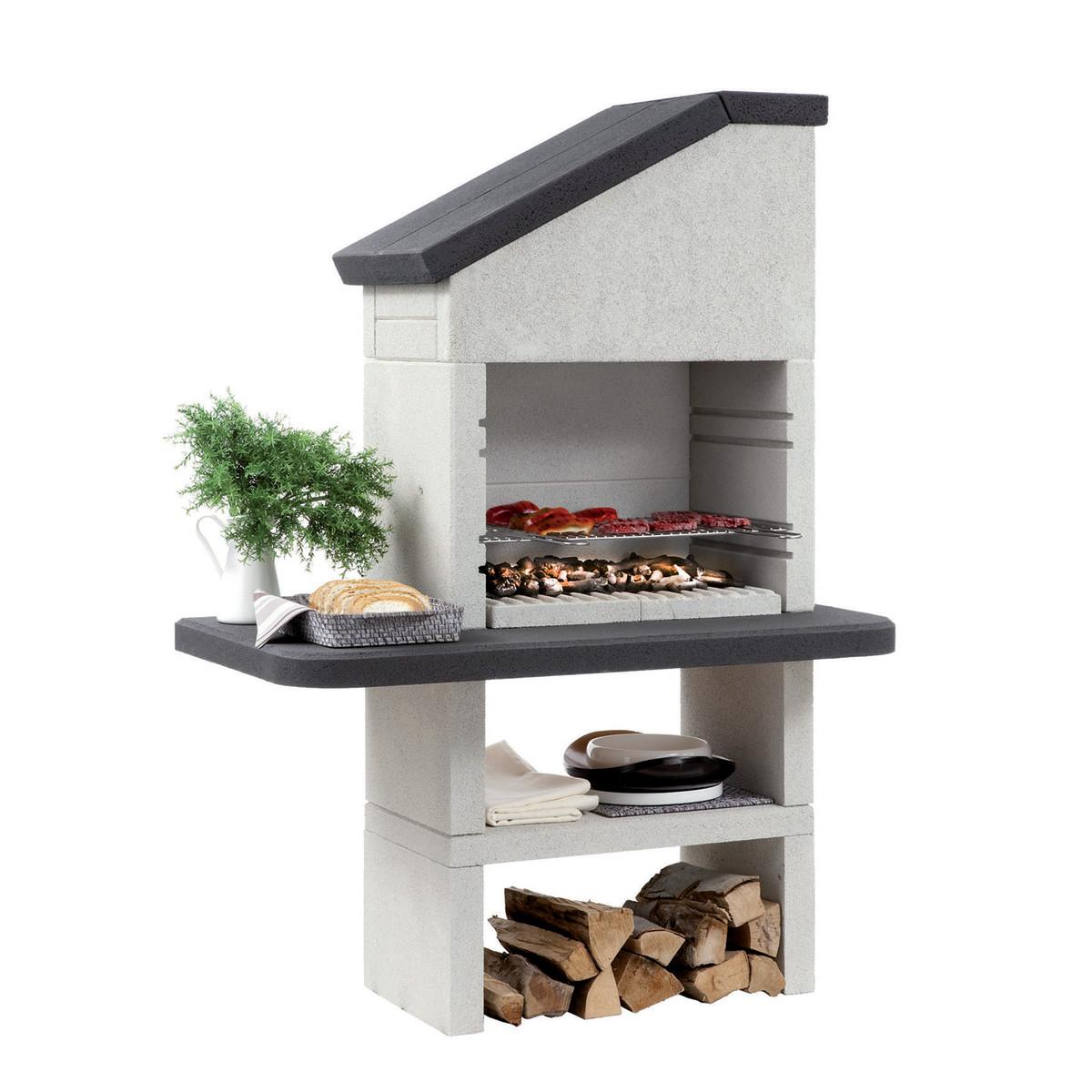 Barbecue in muratura con cappa dubai prezzi e offerte online for Erba sintetica prezzi leroy merlin