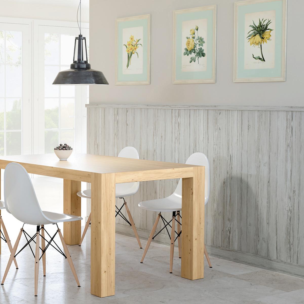Decorazione veranda garden for Perline legno ikea