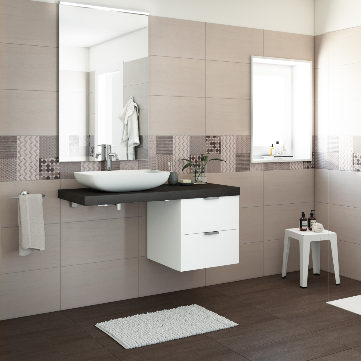 Mobiletti bagno sospesi perfect bellezza mobile bagno for Top arredi floridia