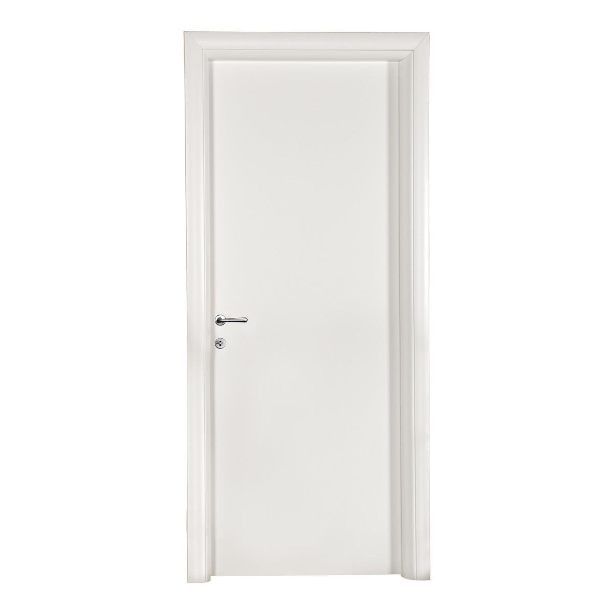 Porta da interno battente pearl bianco 80 x h 210 cm - Porta carta igienica leroy merlin ...