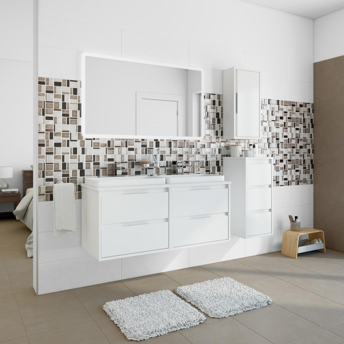 Altezza mobile bagno gallery of mobile per lavandino bagno with altezza mobile bagno axentia - Piastrelle bagno altezza giusta ...