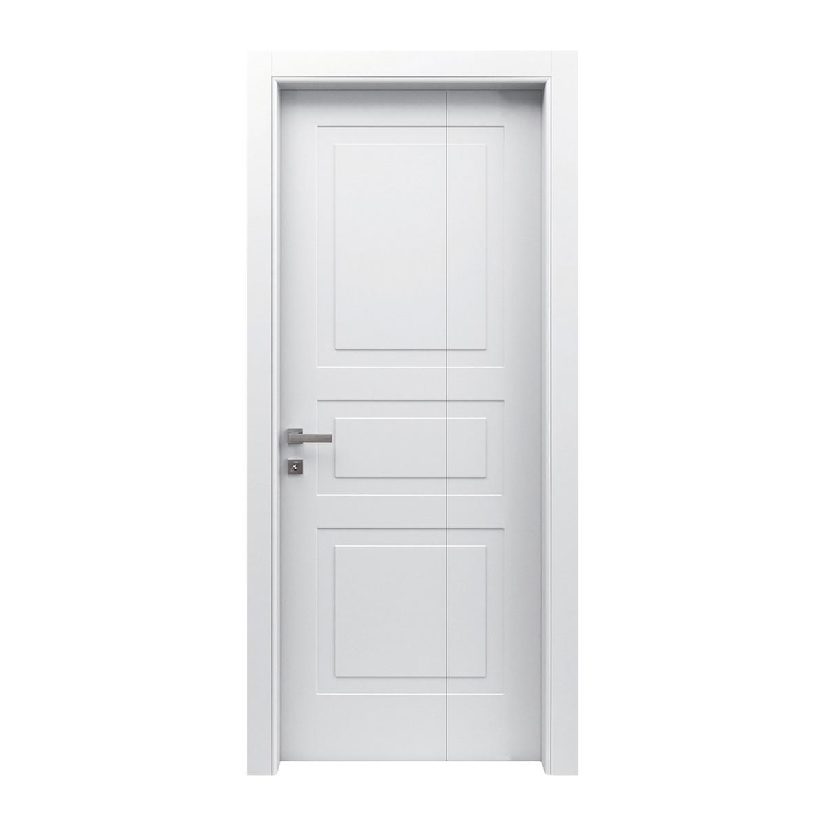 Porta da interno pieghevole asimmetrica alioth bianco 80 x for Porta pieghevole a libro leroy merlin