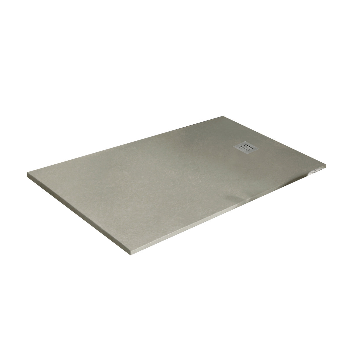 Piatto doccia resina strato 100 x 80 cm beige prezzi e for Erba sintetica prezzi leroy merlin