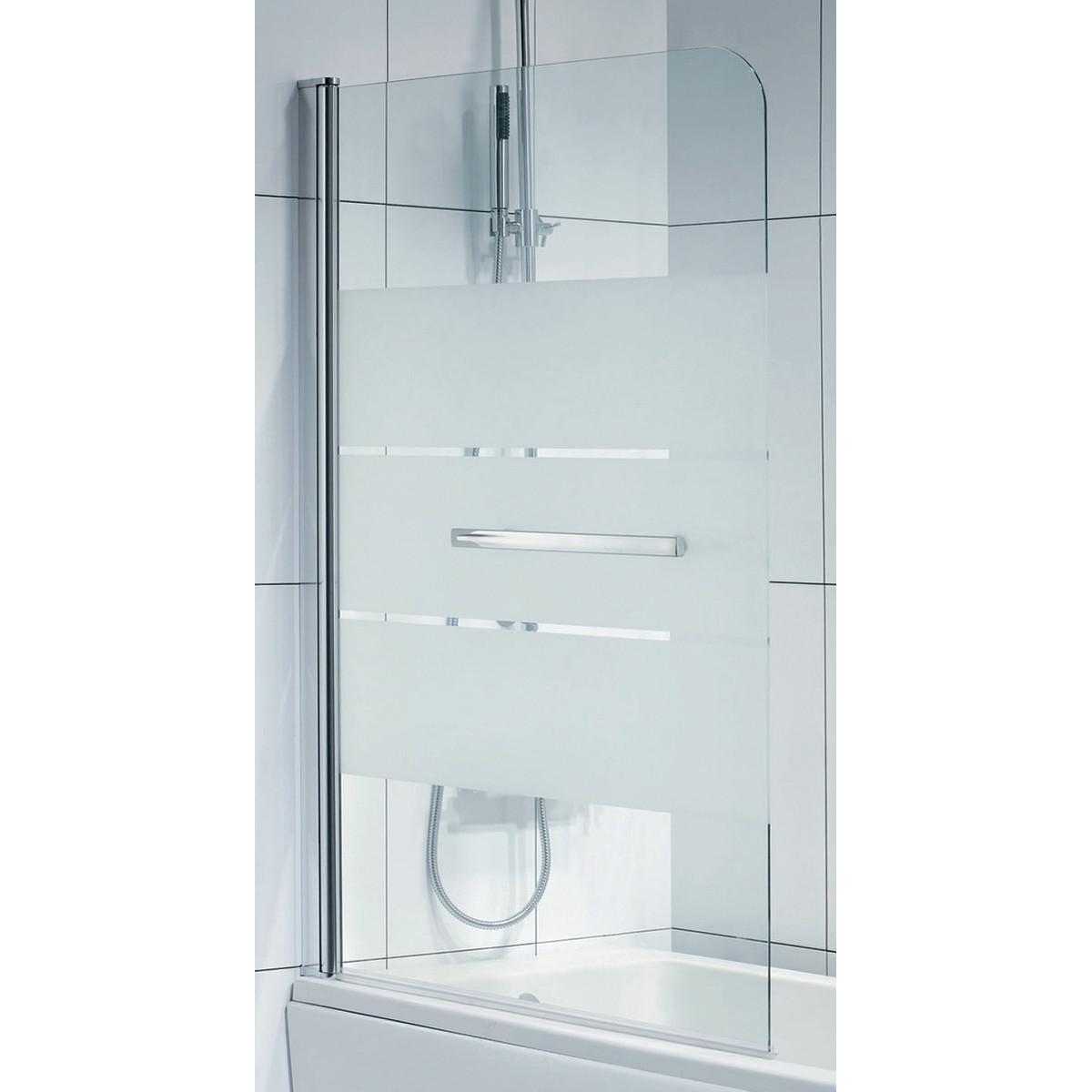parete in vetro per vasca da bagno