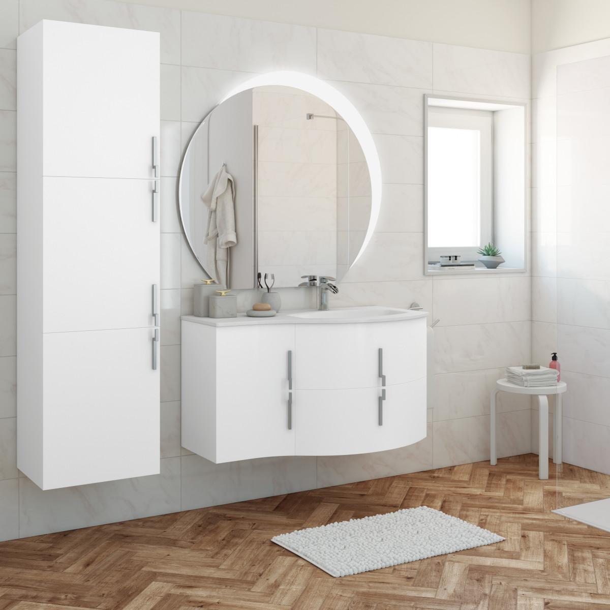 Camino ad angolo con mattoncini in marmo - Cerco mobile bagno ...