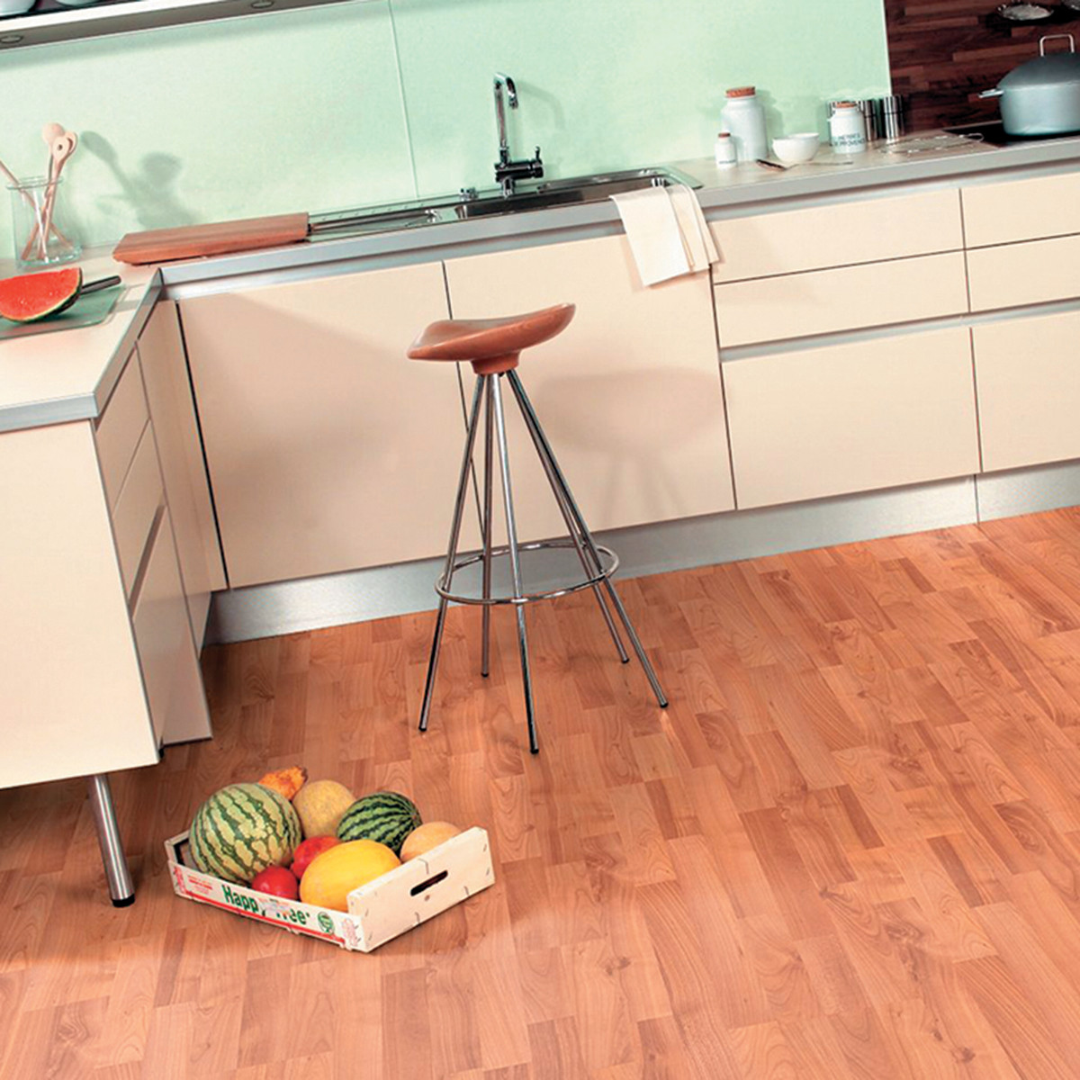 Beautiful pavimento laminato per cucina gallery ideas for Laminato leroy