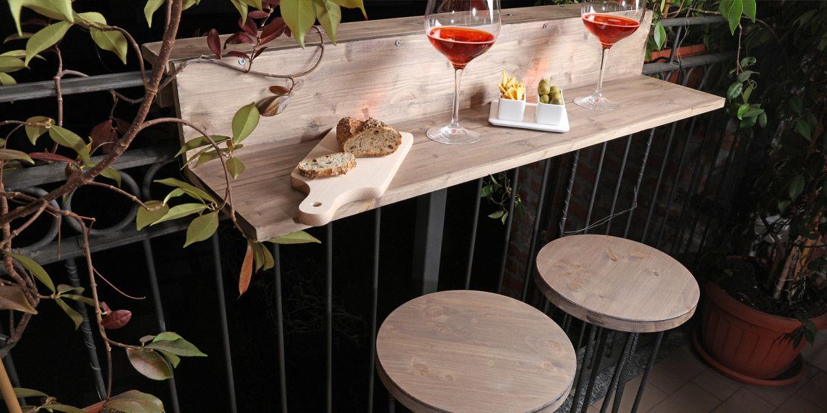 Leroy Merlin Sgabelli Bar.Realizzare Un Balcony Bar E I Suoi Sgabelli In Legno Guide E