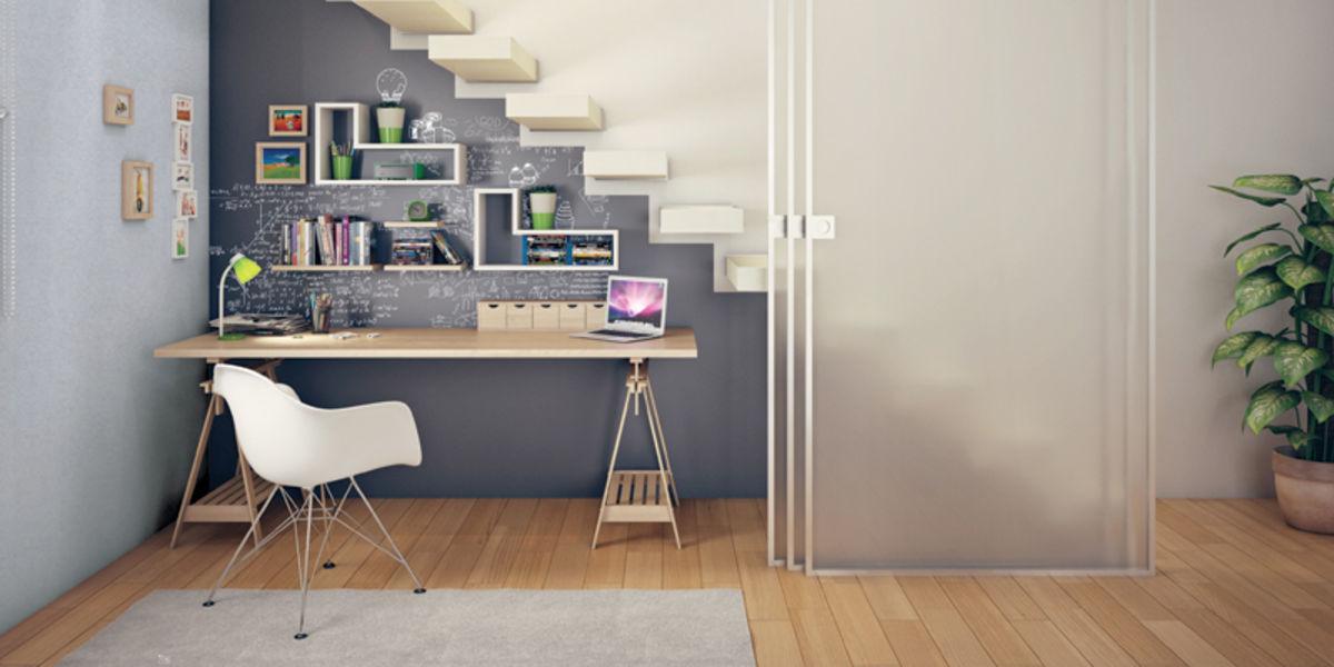 Trendy come arredare un sottoscala da utilizzare come stanza studio with arredare sottoscala - Scrivanie da soggiorno ...