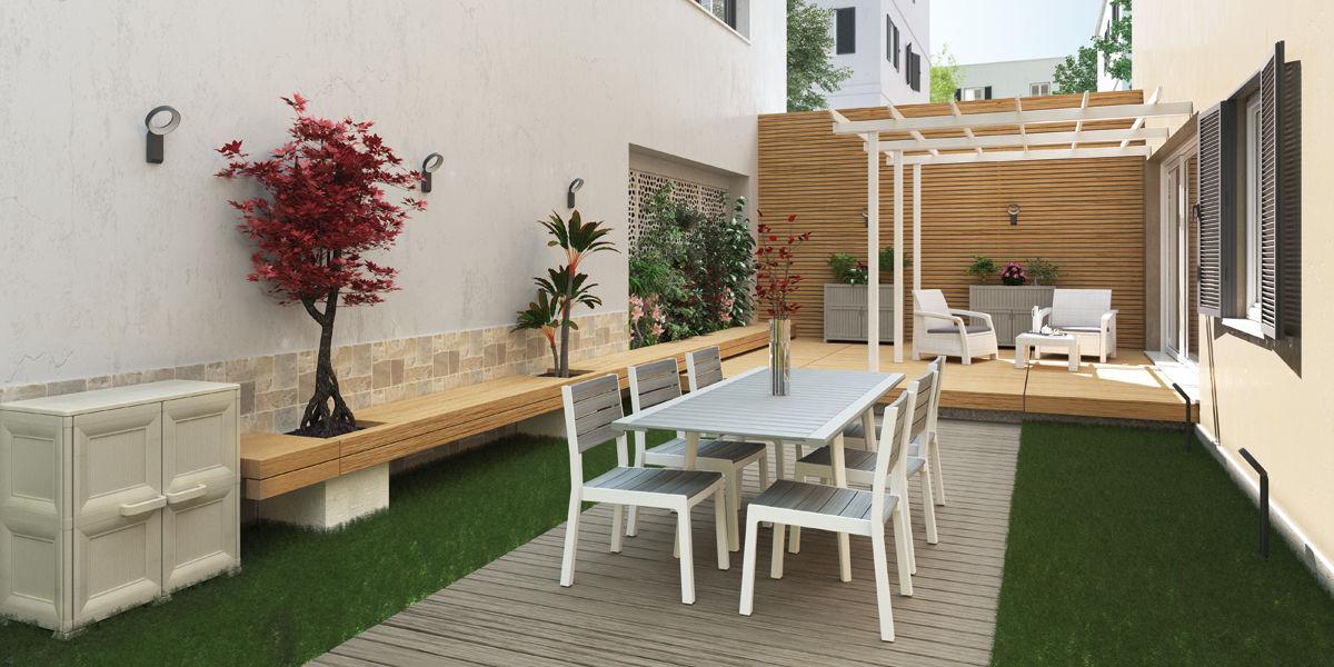 Come allestire un giardino arredare un giardino for Allestire piccoli giardini