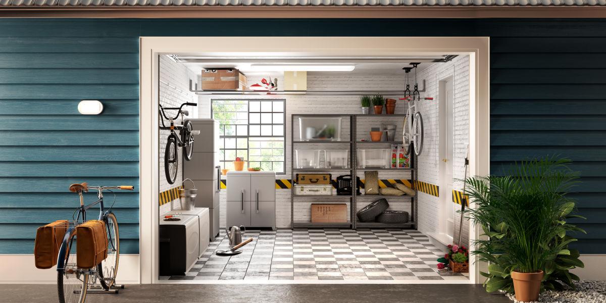 Soppalco fai da te garage come costruire letto a for 2 piani di garage per auto con soppalco