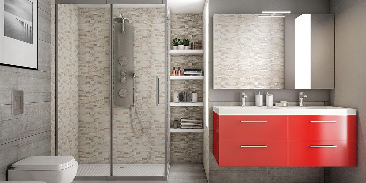 Come arredare un bagno in pietra adatto a tutta la famiglia fai da te leroy merlin - Pensili bagno leroy merlin ...