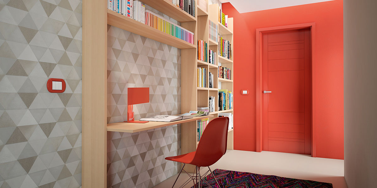 Arredare l ingresso con una parete attrezzata a libreria for Pensili per bagno leroy merlin