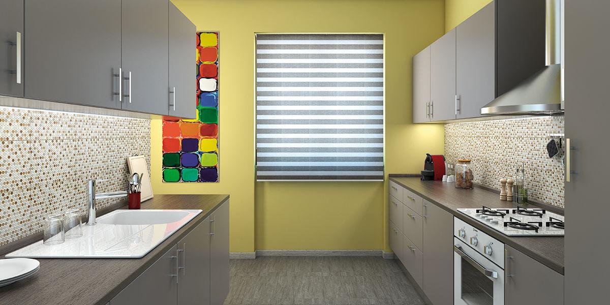 Come progettare una cucina disposta su due pareti contrapposte fai ...