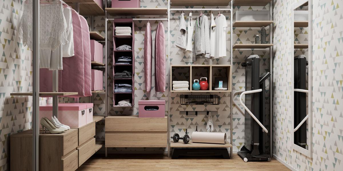 Come arredare una cabina armadio idee cabina armadio come - Interni per cabine armadio ...