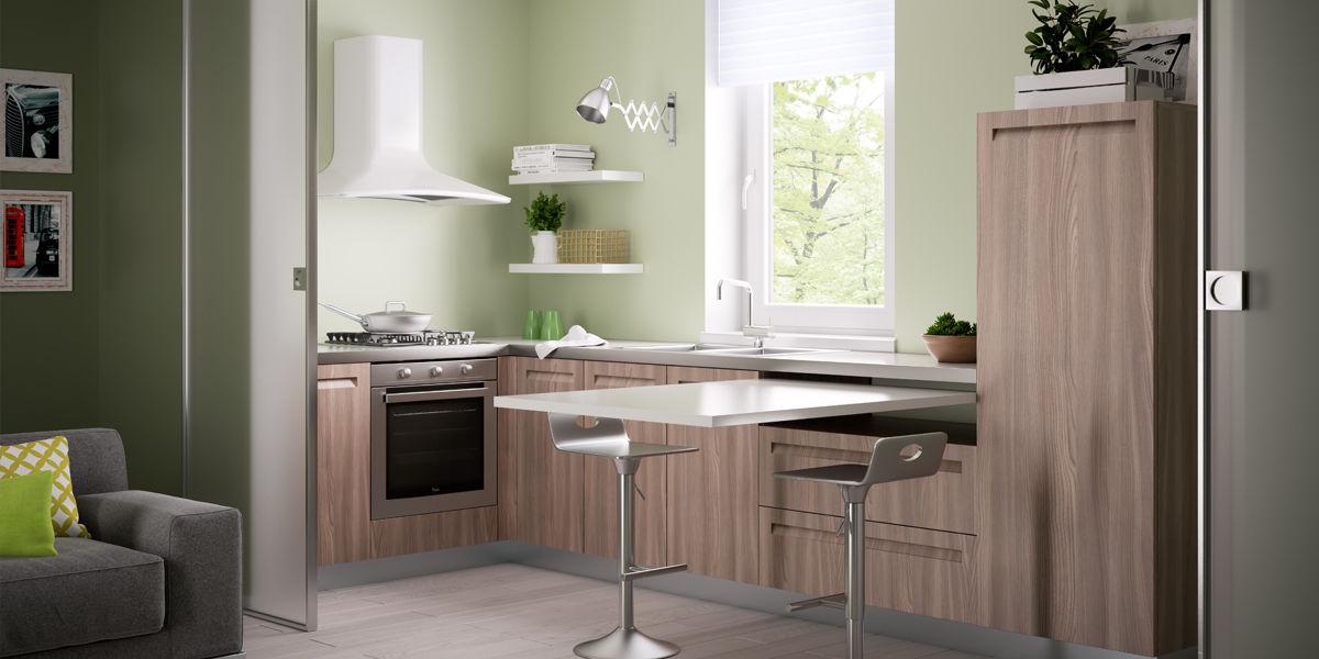 Cucina aperta o chiusa sul soggiorno fai da te leroy merlin - Cucina aperta sul soggiorno ...