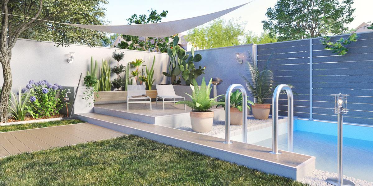Idee per un piccolo giardino vv79 regardsdefemmes for Arredare i giardini
