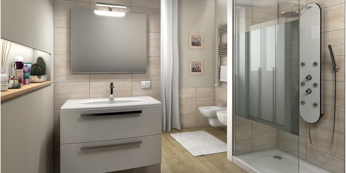 Leroy Merlin Kit Bagno: Progetto arredo bagno gratis online: lArchitetto di Leroy Merlin.