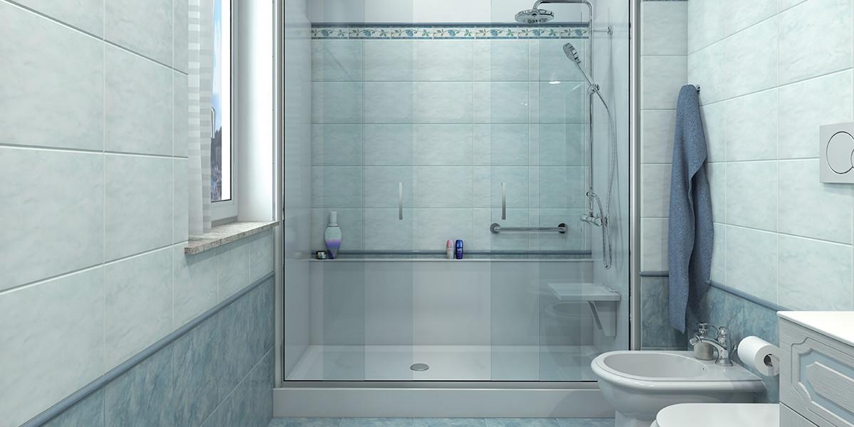 Doccia vetrocemento fai da te trasformazione vasca in - Posa piatto doccia prima o dopo piastrelle ...