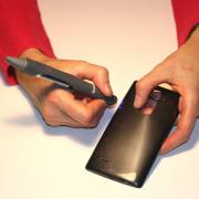 Colla Bluefixx con applicatore indurente ai raggi UV