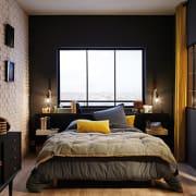 colore pareti nero