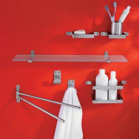 Accessori da bagno da muro: i materiali più utilizzati