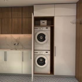 Il mobile per lavatrice e asciugatrice