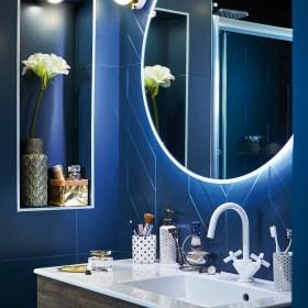 Come scegliere forme e misure dello specchio bagno