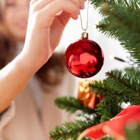 Gli addobbi dell'albero di Natale