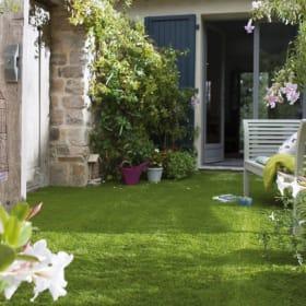 I migliori materiali con cui è realizzata l'erba sintetica