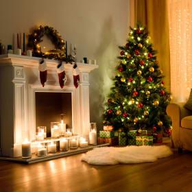 Luminarie natalizie: fisse, intermittenti o musicali?