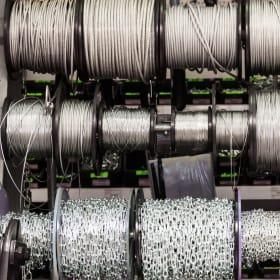 Catene, corde, cavi e fili d'acciaio: mille impieghi diversi