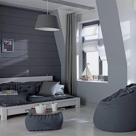 colore pareti grigio