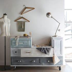 Dipingere vecchi mobili con pitture Shabby